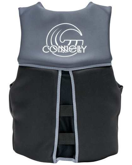Connelly Mens Classic Neo Life Vest CGA Flex Back 2021 Back