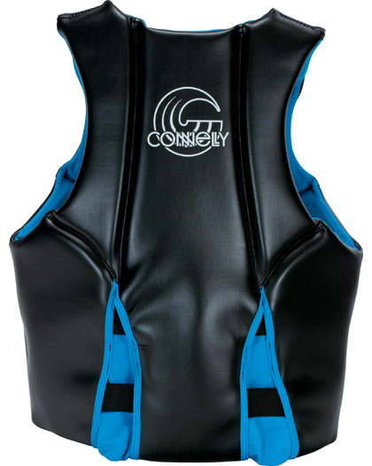 Connelly V Mens Neoprene Life Vest 2021 Back