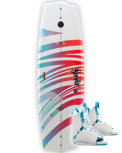 Hyperlite Eden 2.0 Womens Wakeboard 2020 with Allure Boots