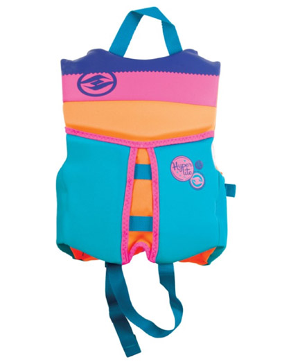 Hyperlite Indy Child Girls Life Vest 2020 Back