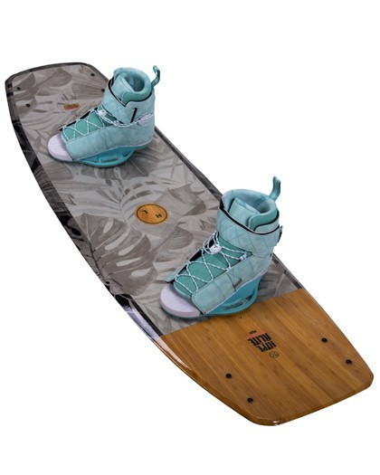 Hyperlite Prizm Womens Wakeboard 2021 with Viva Boots