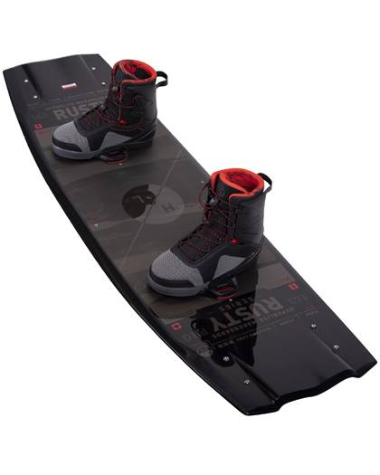 Hyperlite Rusty PRO Wakeboard 2021 with Team X Boots