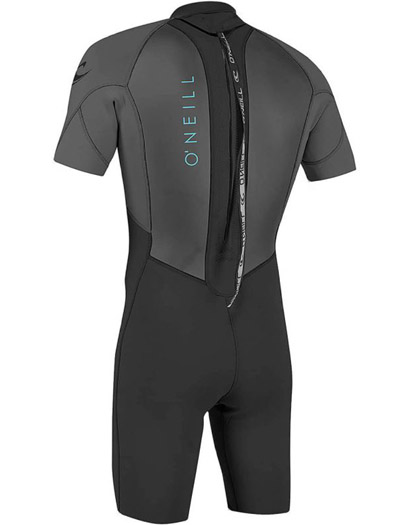 ONeill Youth Reactor II Spring Wetsuit 2mm Black 2021 Back