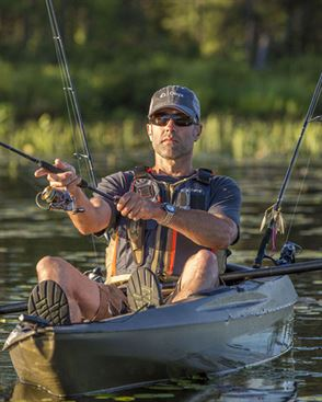 Onyx Kayak Oversized Fishing Nylon Life Vest Action