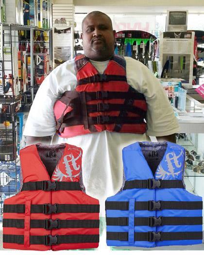 Full Throttle Oversized Life Vest
