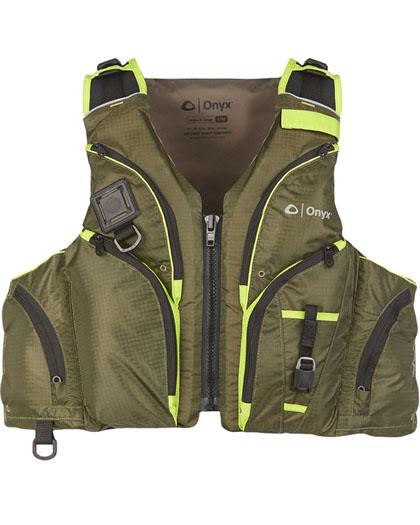 Onyx Pike Paddle Sports Nylon Vest USCGA