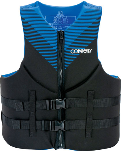 Connelly Promo TALL Neoprene Life Vest 2021 Blue