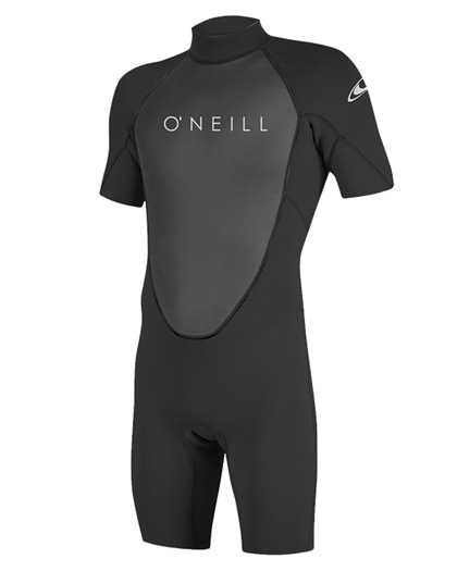 ONeill Mens Reactor II Spring Wetsuit 2mm Black 2021