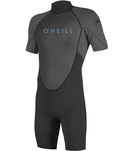 ONeill Youth Reactor II Spring Wetsuit 2mm Black 2021