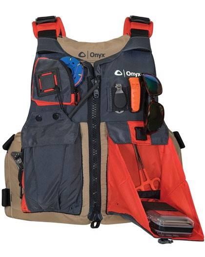 Onyx Kayak Oversized Fishing Nylon Life Vest 40-60 in Chest
