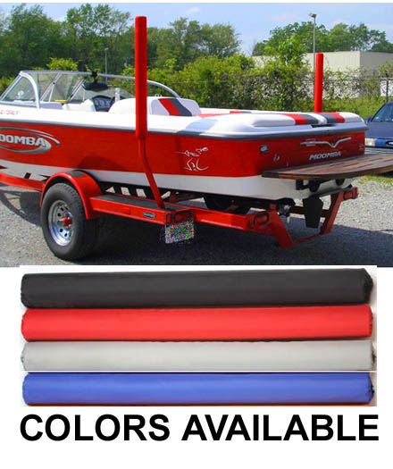 """Boat Trailer Guide Pads Pair for Guide Poles 36"""""""
