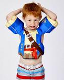 Full Throttle Little Dippers Boys USCGA Child Nylon Life Vest