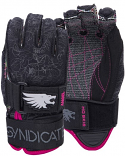 HO Angel INSIDE OUT Womens Water Ski Gloves Kevlar 2021