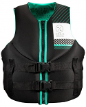 Hyperlite Indy Womens Neoprene Life Vest Teal 2021