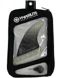 Hyperlite Wakesurfer 3.5 Flux Fin Set w/Key 2021