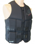 ONeill Assault Mens Neoprene Life Vest Black 2020