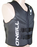 ONeill Reactor Mens Neoprene Life Vest CGA 2021 Black