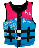 Ronix Girls Youth August Neoprene Life Vest 2021 50-90lbs