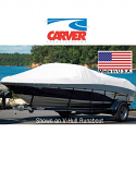 Carver Boat Cover V-Hull Runabout+Windshield and Rails